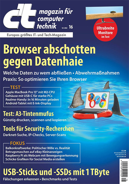 c't – Magazin für Computertechnik