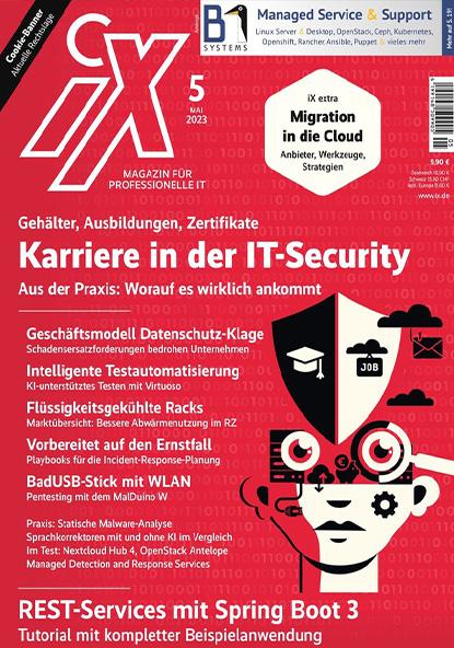 iX – Magazin für professionelle Informationstechnik